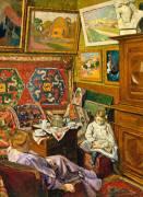 Le thé dans l'atelier (George-Daniel de Monfreid) - Muzeo.com