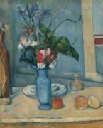 Le Vase bleu (Cézanne Paul) - Muzeo.com