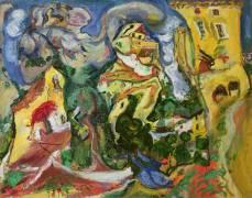Le village (Chaïm Soutine) - Muzeo.com