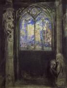 Le Vitrail (Odilon Redon) - Muzeo.com