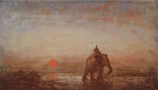 L'éléphant (Ziem Félix) - Muzeo.com