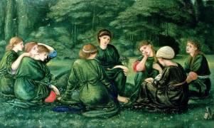 L'été vert (Burne-Jones Edward) - Muzeo.com