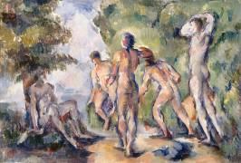 Les baigneurs (Cézanne Paul) - Muzeo.com