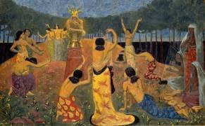 Les filles de Pelichtim (Philistins en hébreu) (Serusier Paul) - Muzeo.com