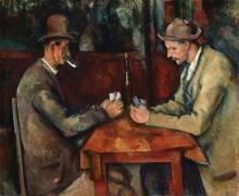 Les joueurs de cartes (Cézanne Paul) - Muzeo.com