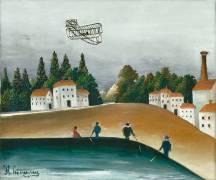 Les Pêcheurs à la ligne (Henri Rousseau) - Muzeo.com