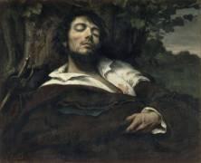 L'homme blessé (Gustave Courbet) - Muzeo.com
