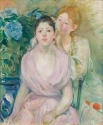 L'hortensia (Morisot Berthe) - Muzeo.com