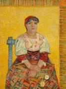 L'Italienne (Van Gogh Vincent) - Muzeo.com