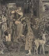 Marie-Madeleine à la porte de Simon Pharyise (Rossetti Dante Gabriel) - Muzeo.com