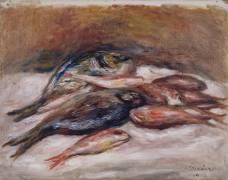 Nature morte aux poissons (Renoir Auguste) - Muzeo.com