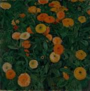 Oeillets d'Inde (Koloman Moser) - Muzeo.com