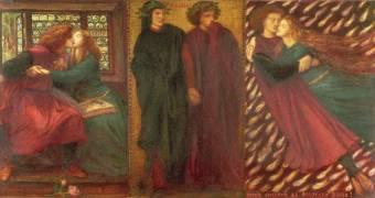Paolo et Francesca (Rossetti Dante Gabriel) - Muzeo.com