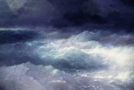 Parmi les vagues (Aivazovsky Ivan) - Muzeo.com
