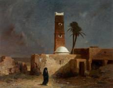 Paysage arabe (Léon Joly de Saint François) - Muzeo.com
