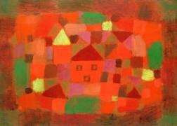 Paysage au coucher de soleil (Paul Klee) - Muzeo.com