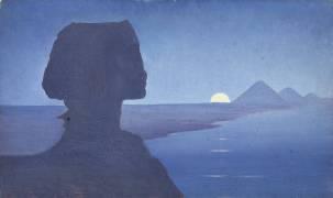 Paysage avec le sphinx (Alphonse Osbert) - Muzeo.com