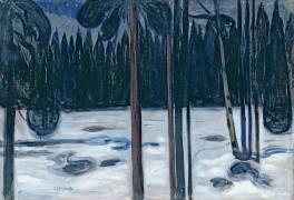 Paysage d'hiver (Munch Edvard) - Muzeo.com