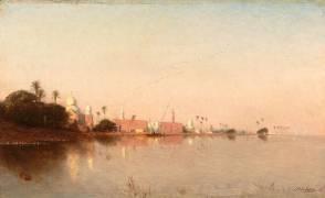 Paysage d'Orient (Berchère Narcisse) - Muzeo.com