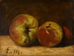 Pommes (Manet Edouard) - Muzeo.com