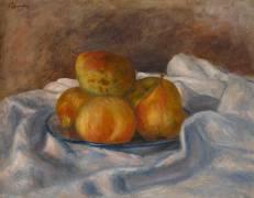 Pommes et poires (Renoir Auguste) - Muzeo.com