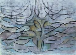 Pommier en fleur (Mondrian Piet) - Muzeo.com