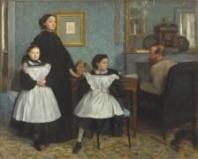 Portrait de famille, la famille Bellelli (Edgar Degas) - Muzeo.com