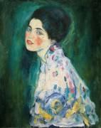 Portrait de femme. (Gustav Klimt) - Muzeo.com
