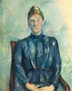 Portrait de madame Cézanne (Cézanne Paul) - Muzeo.com