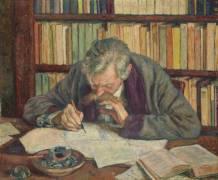 Portrait d'Emile Verhaeren (1855-1916), poète (Van Rysselberghe Théo) - Muzeo.com