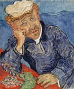 Portrait du docteur Gachet (Derousse Blanche ,D'après Van...) - Muzeo.com