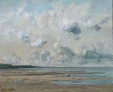 Rivage de Normandie (Gustave Courbet) - Muzeo.com