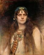 Rose Caron dans le rôle de Salambô (Léon Bonnat) - Muzeo.com