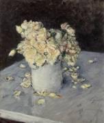 Roses Jaunes dans un Vase (Gustave Caillebotte) - Muzeo.com