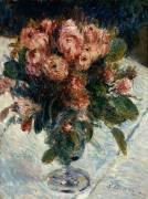Roses mousseuses (Renoir Auguste) - Muzeo.com