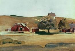 Bureau de poste de South Truro en 1930 (Edward Hopper) - Muzeo.com