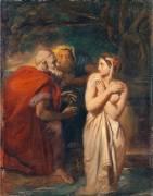 Suzanne et les vieillards (Théodore Chasseriau) - Muzeo.com
