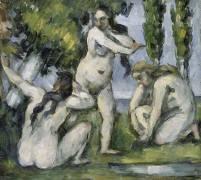 Trois baigneuses (Cézanne Paul) - Muzeo.com