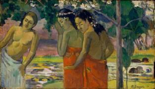 Trois Tahitiennes (Gauguin Paul) - Muzeo.com