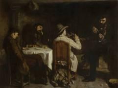 Un après-dîner à Ornans (Gustave Courbet) - Muzeo.com