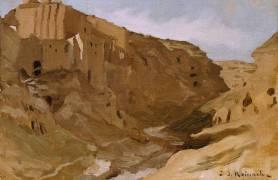 Un couvent au désert (Léon Bonnat) - Muzeo.com