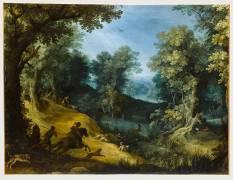 Chasse au cerf (Bril Paul) - Muzeo.com