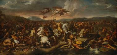 La bataille de Constantin (,D'après Raphaël (dit),...) - Muzeo.com
