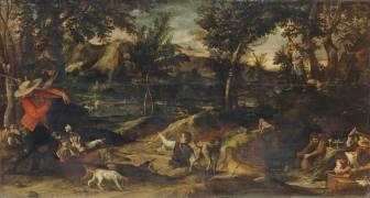 La chasse (Annibale Carracci) - Muzeo.com
