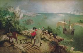 La Chute d'Icare (Pieter Brueghel l'Ancien) - Muzeo.com