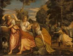 La Famille de Loth fuyant Sodome (Paul Véronèse) - Muzeo.com