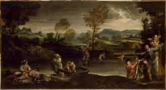 La pêche (Annibale Carracci) - Muzeo.com