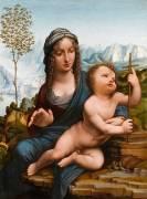 La Vierge au fuseau (Léonard De Vinci) - Muzeo.com
