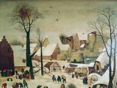 Le recensement de Bethléem (Pieter Brueghel le Vieux) - Muzeo.com