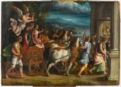Le Triomphe de Titus et Vespasien (Giulio Romano) - Muzeo.com